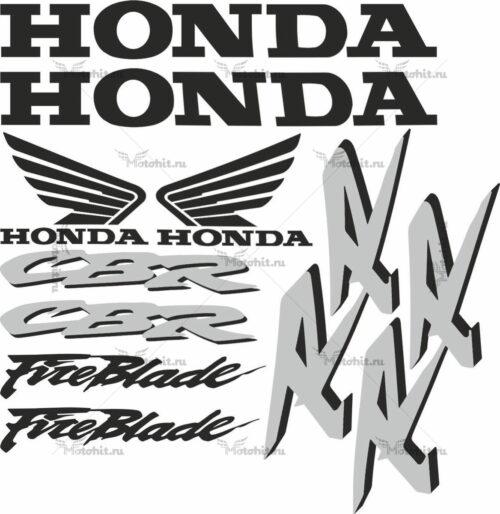 Комплект наклеек Honda CBR-1000-RR 2002 FIREBLADE