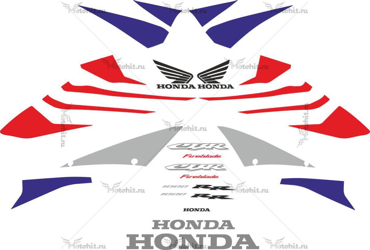 Комплект наклеек Honda CBR-1000-RR 2004-2005 FOR-RED