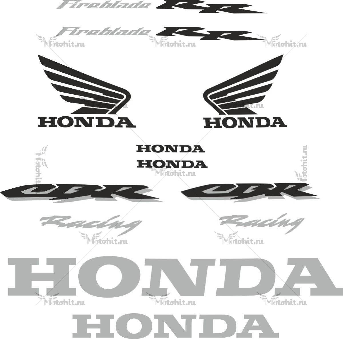 Комплект наклеек Honda CBR-1000-RR 2004-2005 LIGHT
