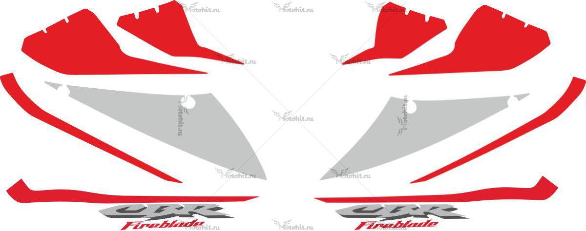 Комплект наклеек Honda CBR-1000-RR 2005