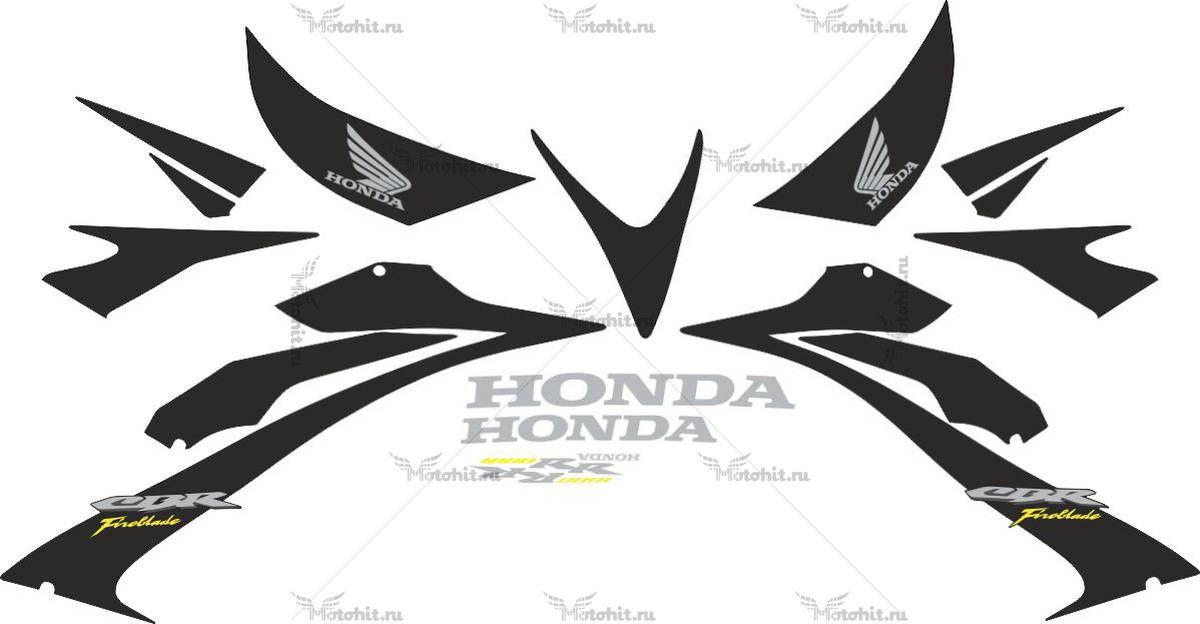 Комплект наклеек Honda CBR-1000-RR 2006-2007 FIREBLADE