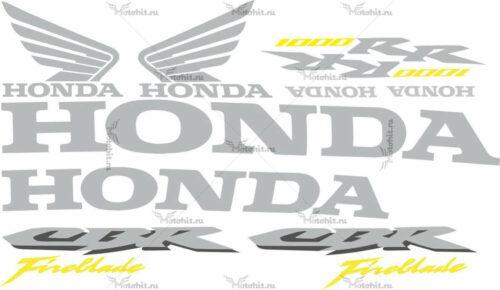 Комплект наклеек Honda CBR-1000-RR 2006 FIREBLADE-ONLY-TXT