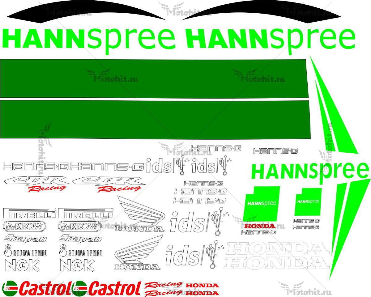 Комплект наклеек Honda CBR-1000-RR 2006 HANSPREE