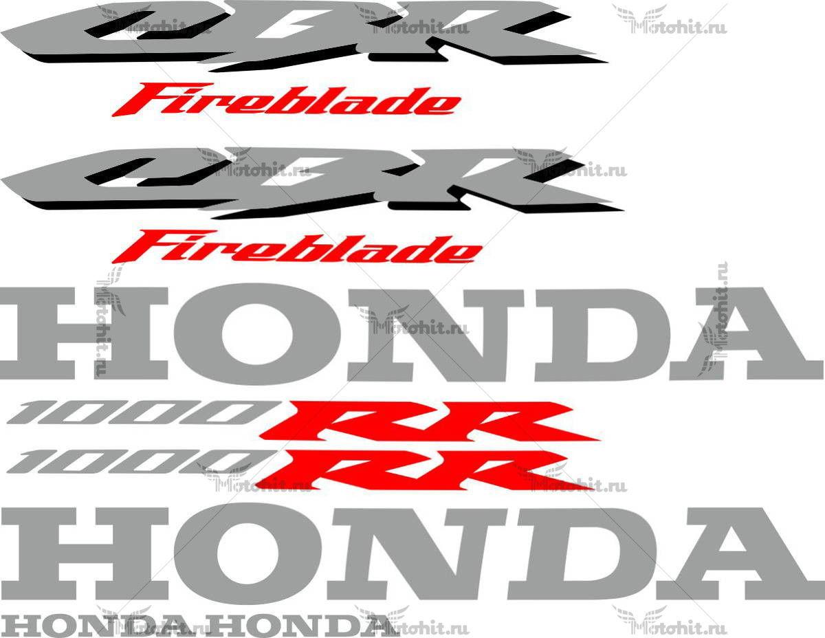 Комплект наклеек Honda CBR-1000-RR 2006 ORIGINAL