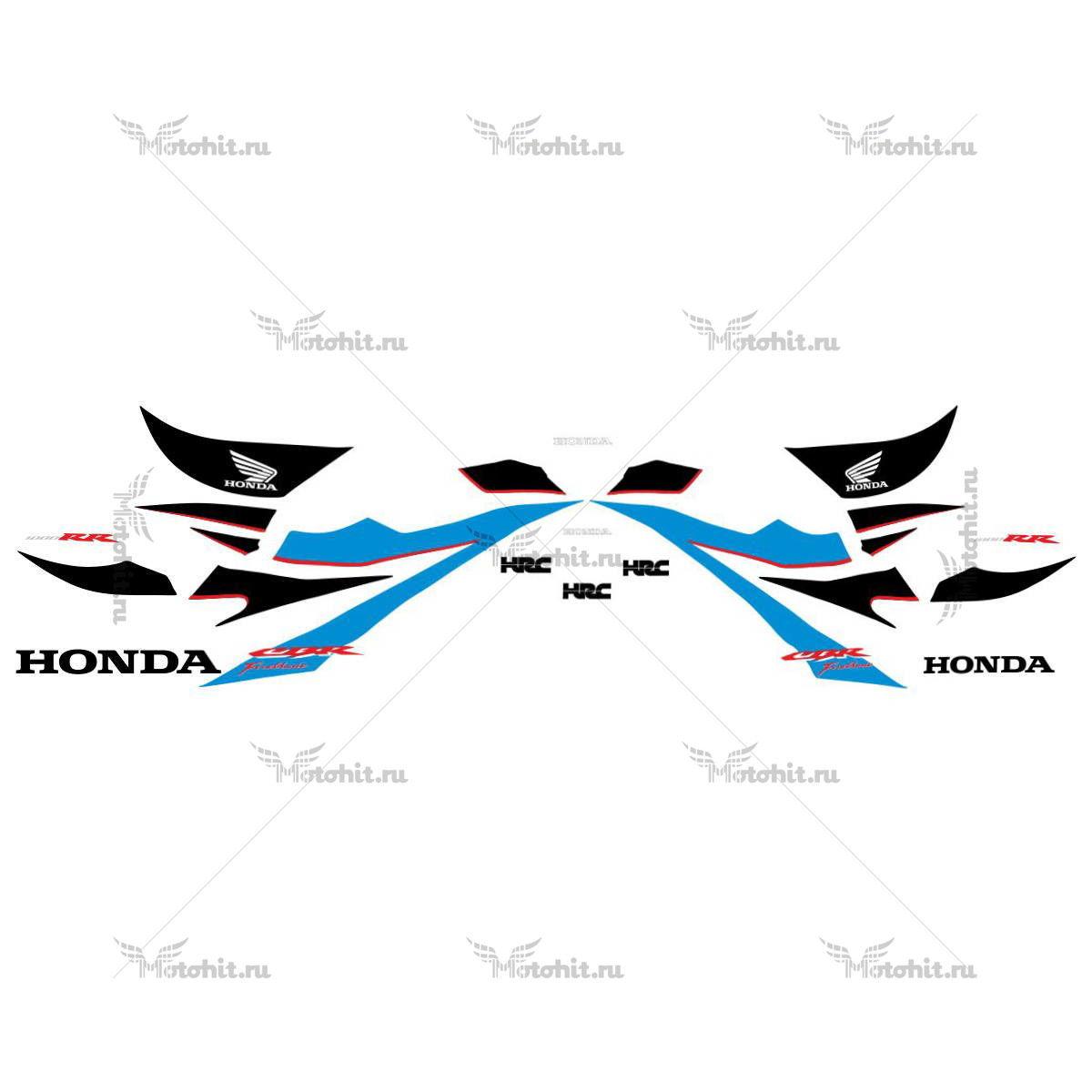 Комплект наклеек Honda CBR-1000-RR 2007