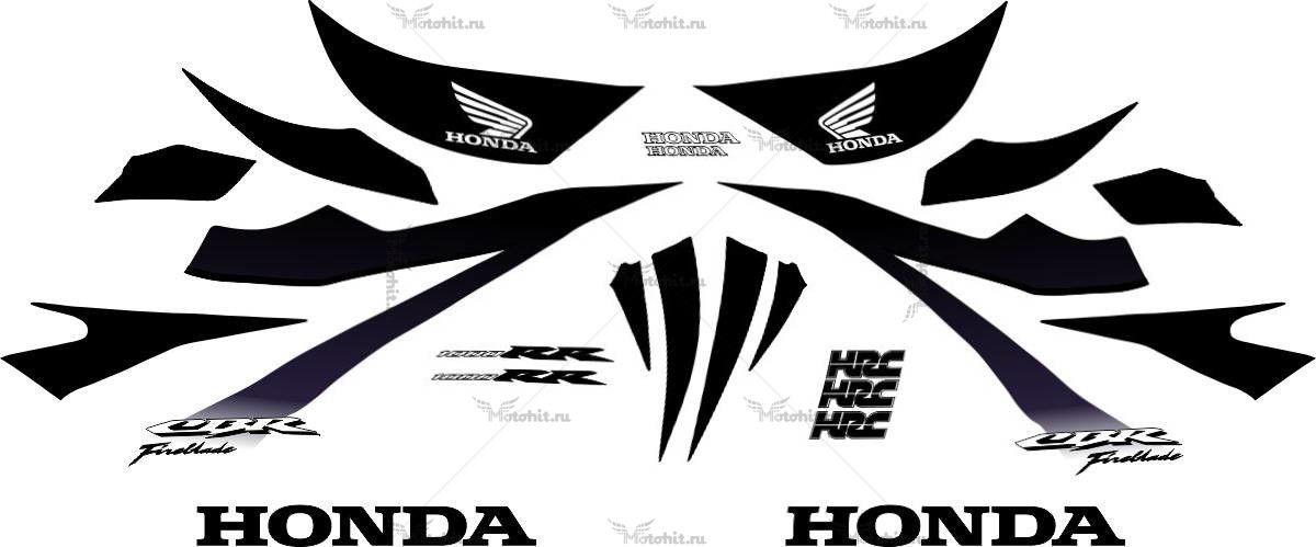 Комплект наклеек Honda CBR-1000-RR 2007 STAMPA