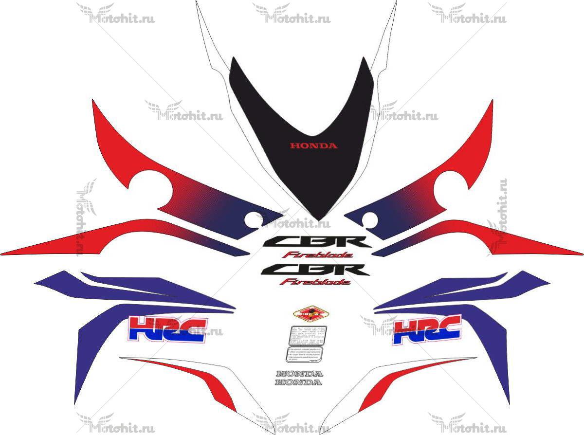 Комплект наклеек Honda CBR-1000-RR 2008-2009