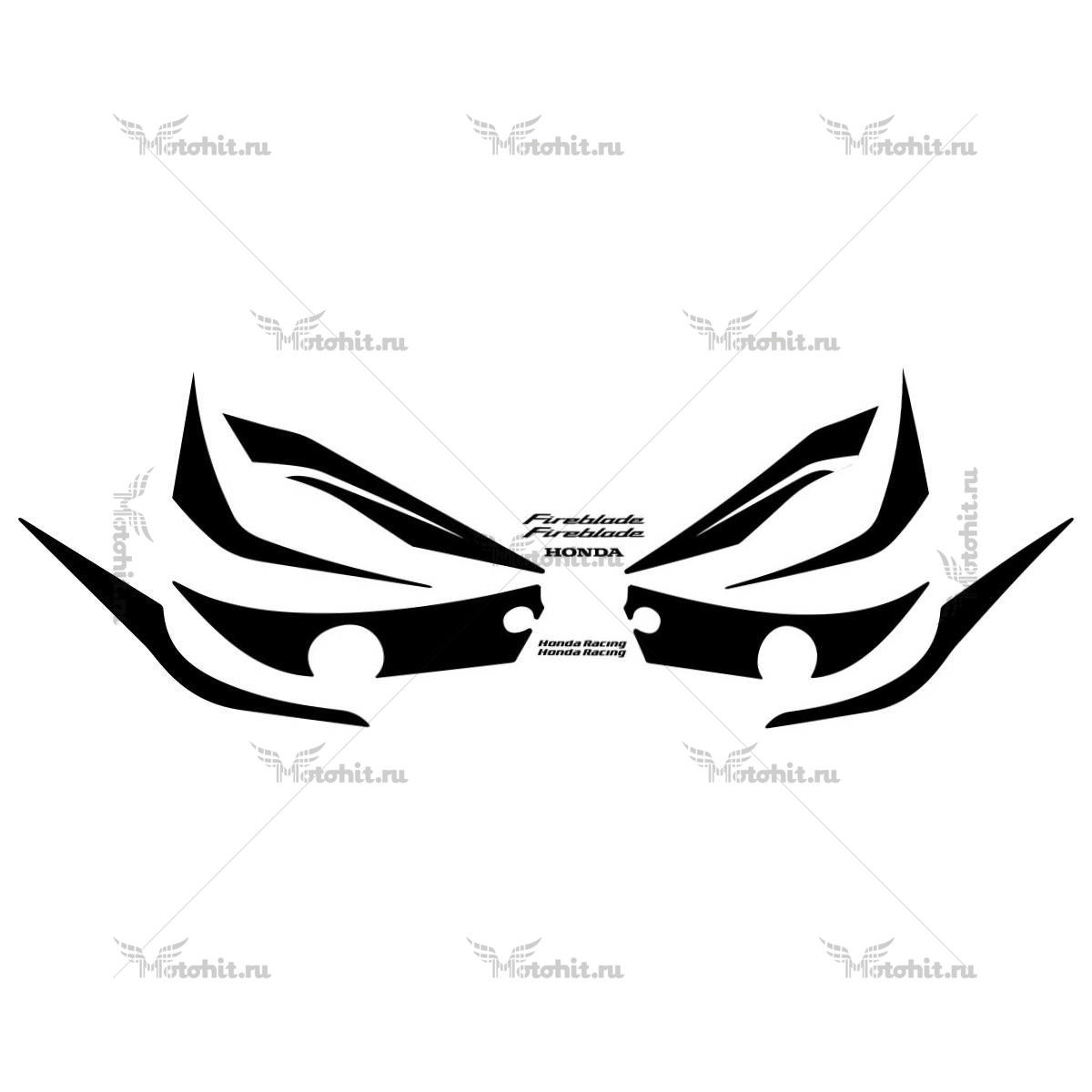 Комплект наклеек Honda CBR-1000-RR 2008-2009 BLACK