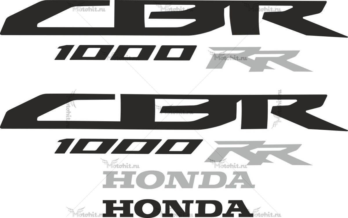 Комплект наклеек Honda CBR-1000-RR 2008-2009 LOGOS
