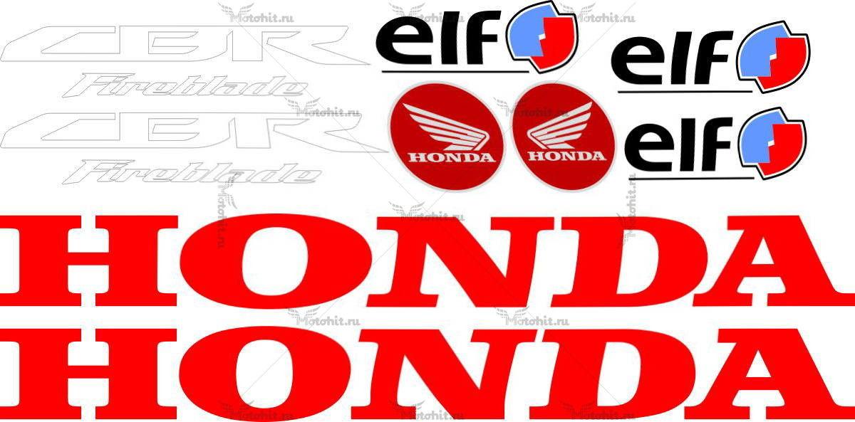 Комплект наклеек Honda CBR-1000-RR 2009