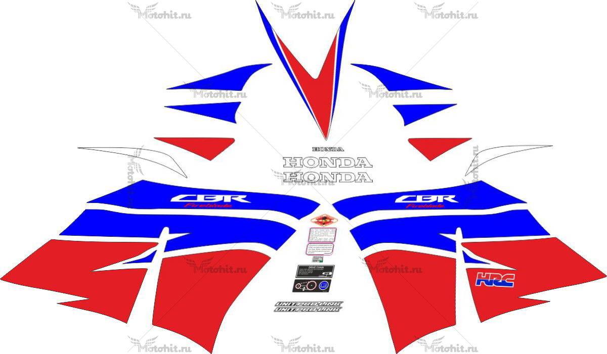 Комплект наклеек Honda CBR-1000-RR 2012-2015