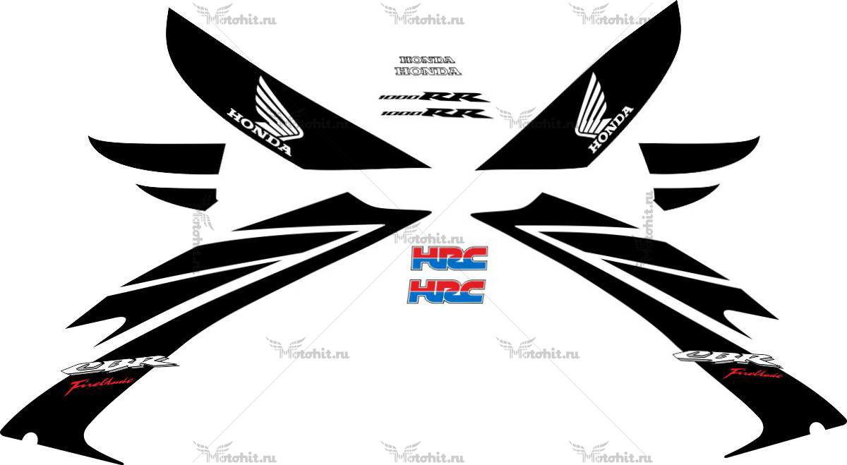 Комплект наклеек Honda CBR-1000-RR FIREBLADE FULL