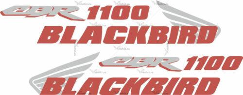 Комплект наклеек Honda CBR-1100 BLACKBIRD