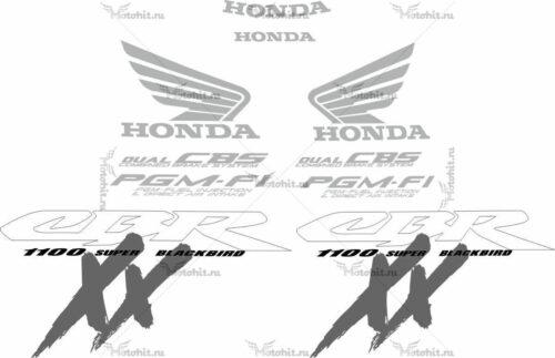 Комплект наклеек Honda CBR-1100-XX 1999-2007