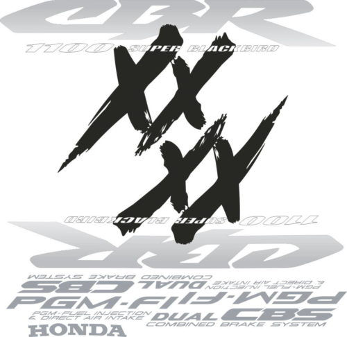 Комплект наклеек Honda CBR-1100-XX 2000