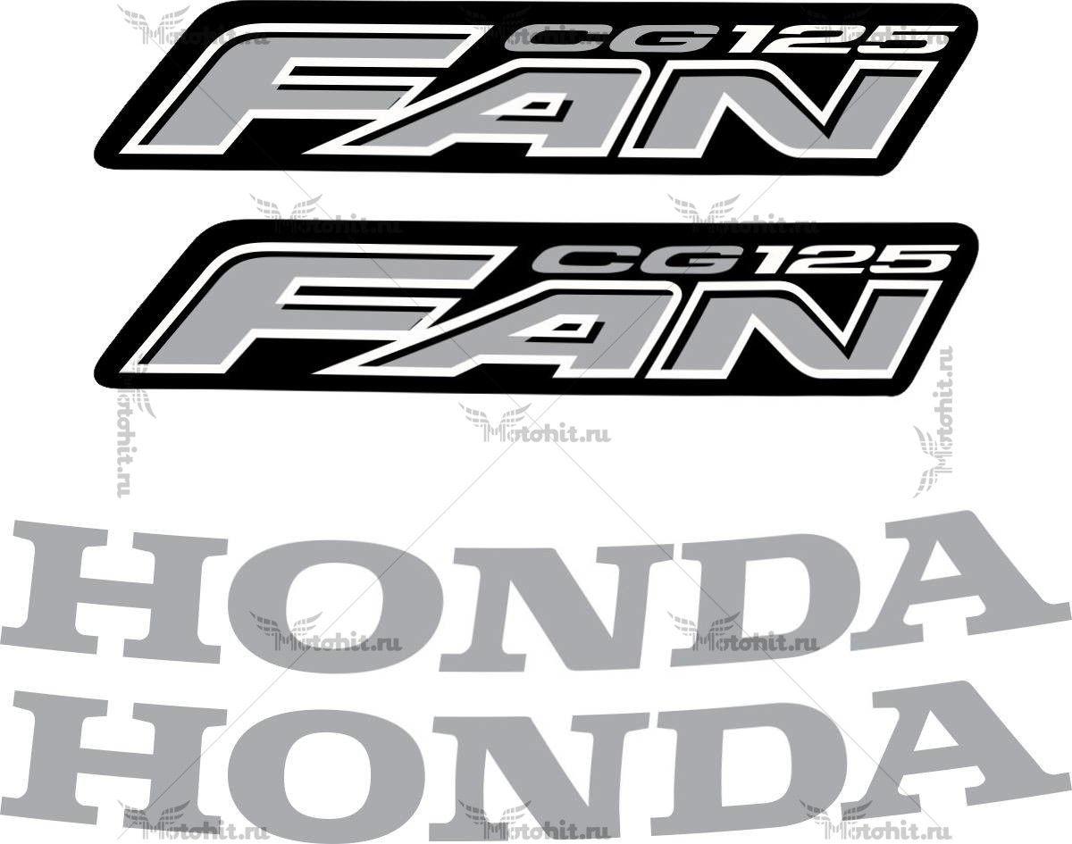 Комплект наклеек Honda CG-125 2008
