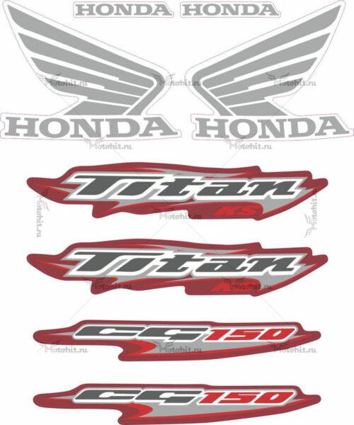 Комплект наклеек Honda CG-150 2006 TITAN
