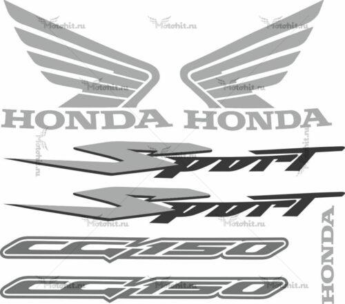 Комплект наклеек Honda CG-150 2006 TITAN-SPORT