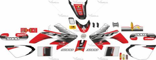 Комплект наклеек Honda CRF-50