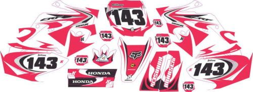 Комплект наклеек Honda CRF-150 PINK