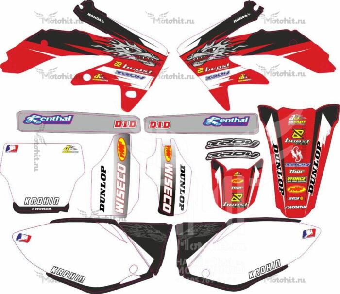 Комплект наклеек Honda CRF-250 CRF-450 2005-2006