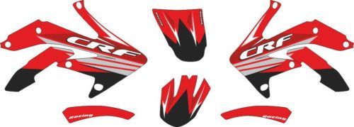 Комплект наклеек Honda CRF-250 CRF-450 2005-2008 1