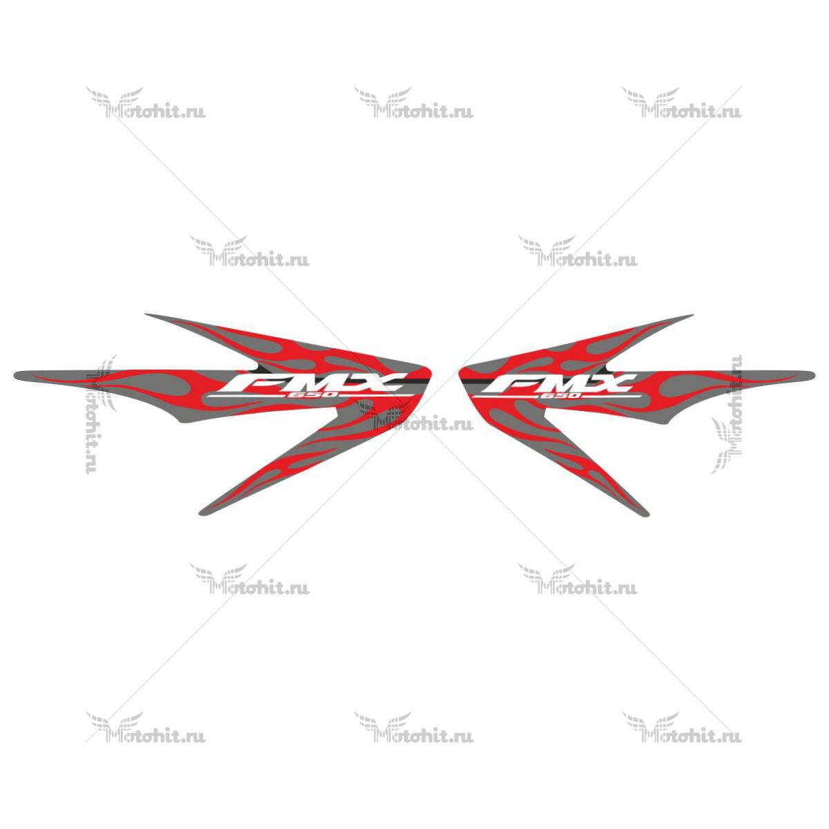 Комплект наклеек Honda FMX-650