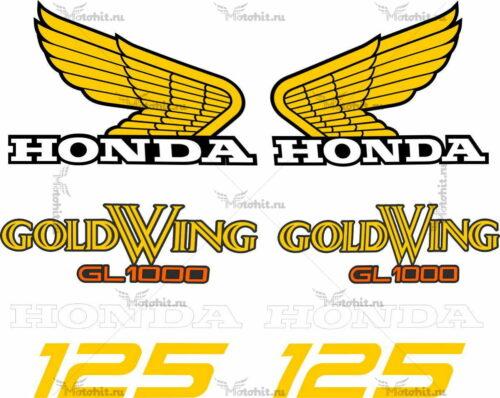 Комплект наклеек Honda GOLD-WING GL-1000