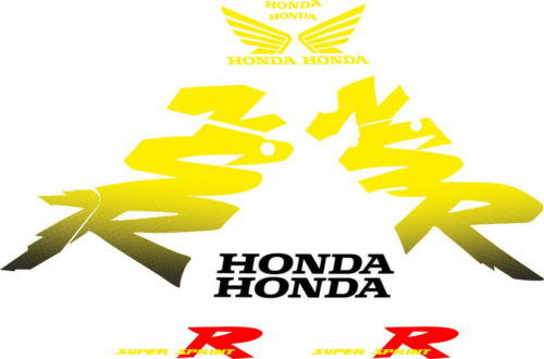 Комплект наклеек Honda NSR-125-R 1999-2000 YELLOW