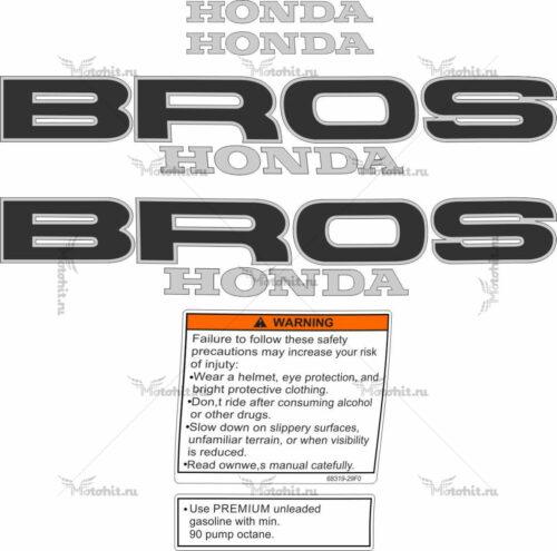 Комплект наклеек Honda NT-650 BROSS 1990-1993