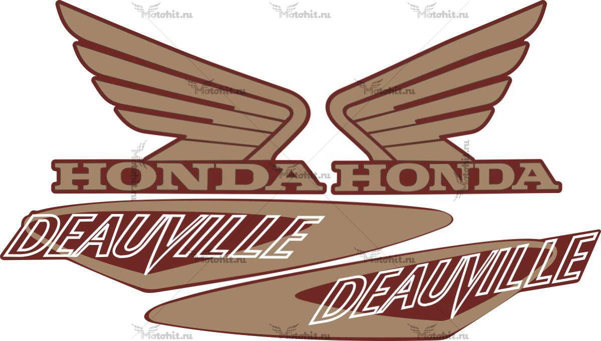 Комплект наклеек Honda NT-650V DEAUVILLE 2000-2005