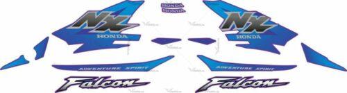 Комплект наклеек Honda NX-4 2000 FALCON-BLUE