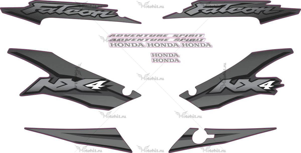 Комплект наклеек Honda NX-4 2002 FALCON