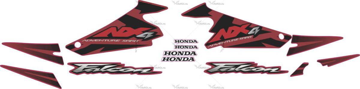 Комплект наклеек Honda NX-4 2003 FALCON