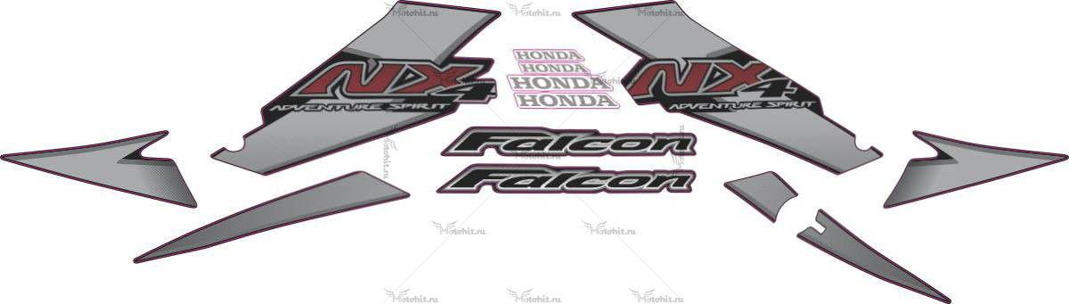 Комплект наклеек Honda NX-4 2004 FALCON