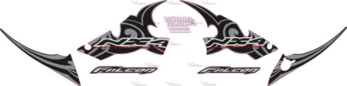 Комплект наклеек Honda NX-4 2006 FALCON