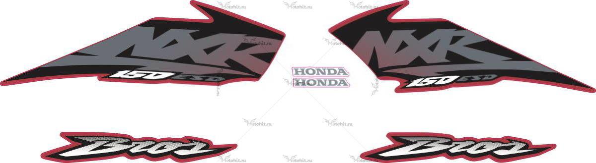 Комплект наклеек Honda NXR-150 2003