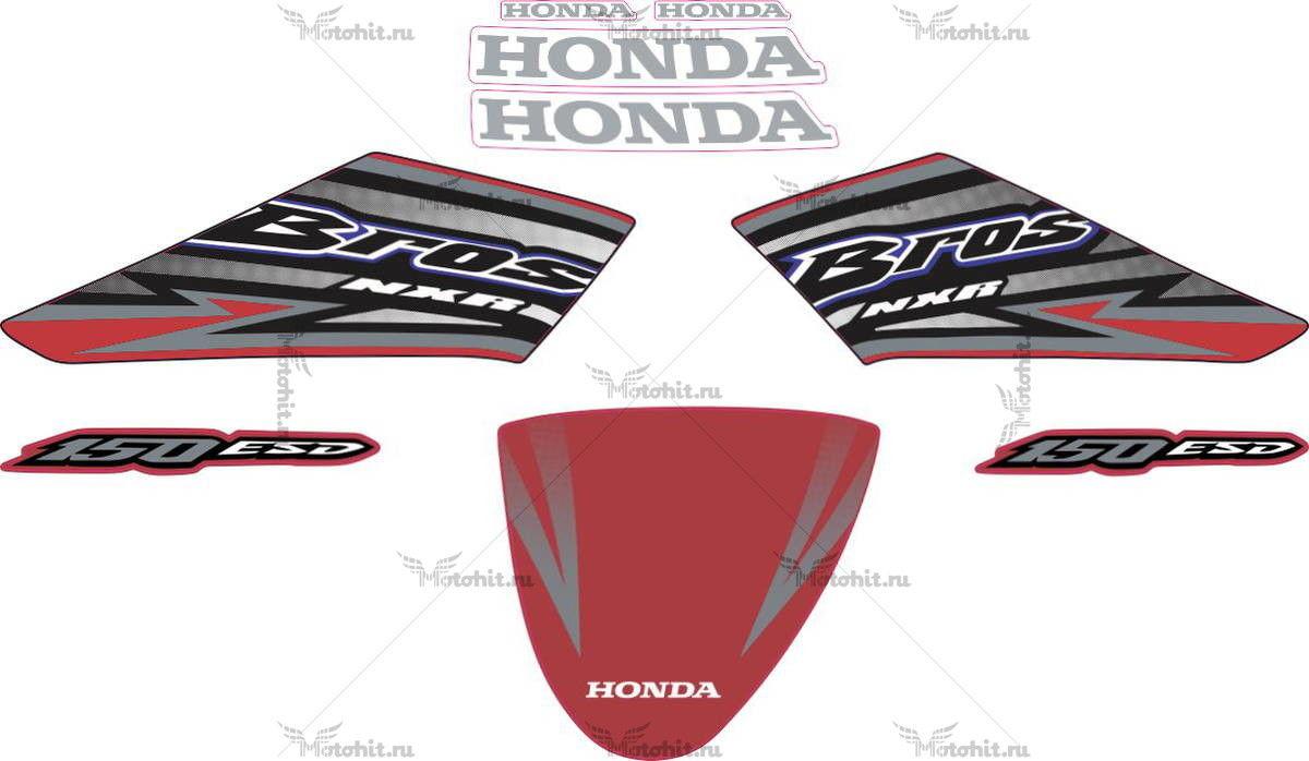Комплект наклеек Honda NXR-150 2005