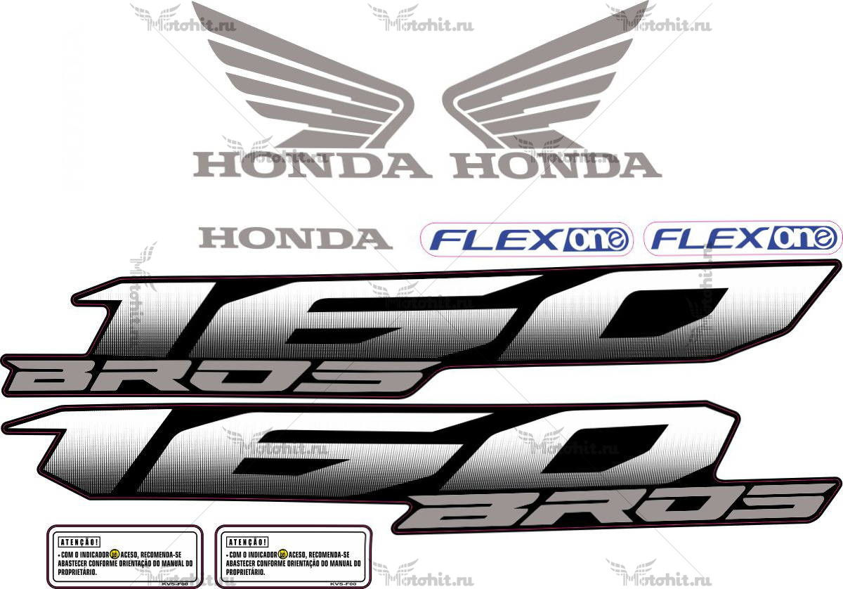 Комплект наклеек Honda NXR-160 2003-2014 BROS