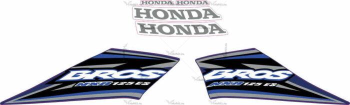Комплект наклеек Honda NXR-125 2005 BLUE