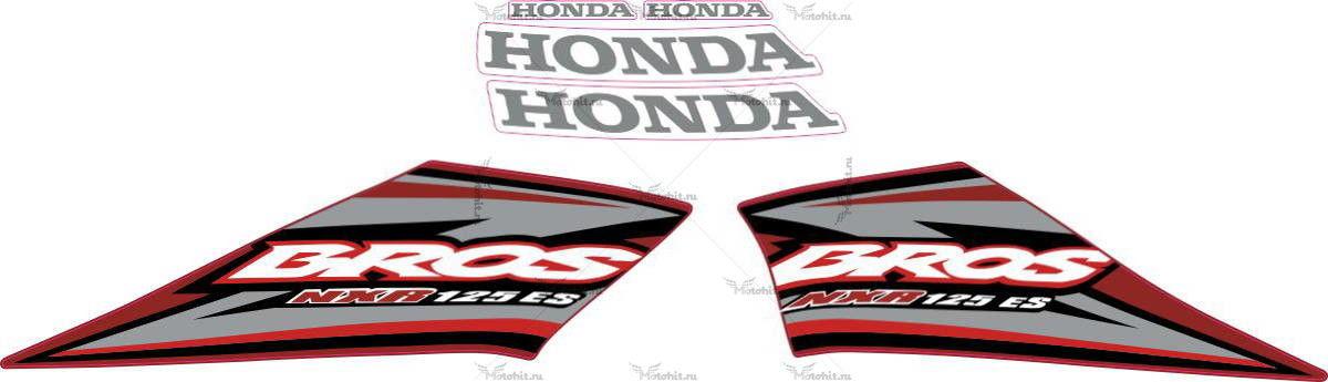 Комплект наклеек Honda NXR-125 2005 BROS