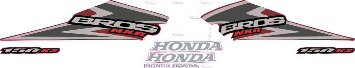 Комплект наклеек Honda NXR-150 2006