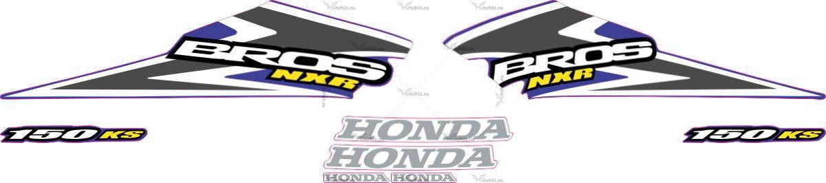 Комплект наклеек Honda NXR-150 2006 LIGHT