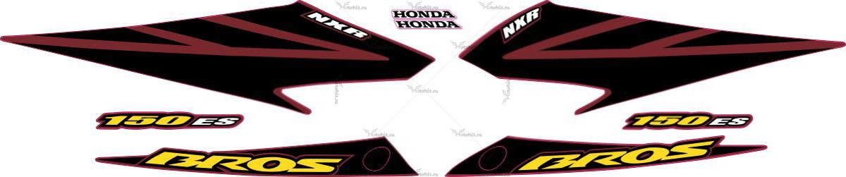 Комплект наклеек Honda NXR-150 2007
