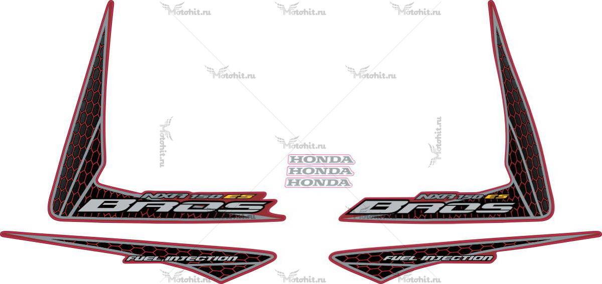 Комплект наклеек Honda NXR-150 2009