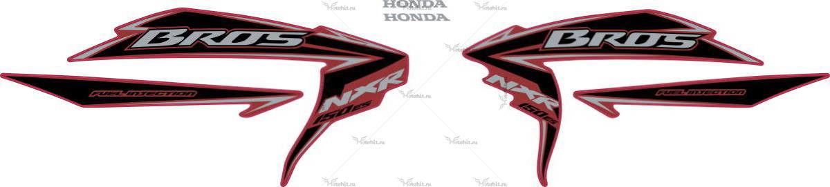 Комплект наклеек Honda NXR-150 2010