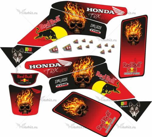 Комплект наклеек Honda TRX-400 GHOST-RIDERS