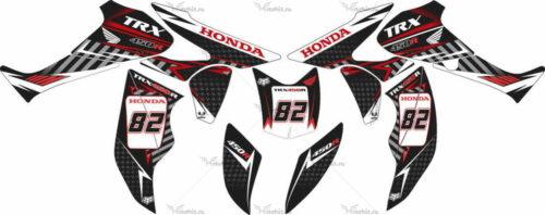 Комплект наклеек Honda TRX-450 KIT