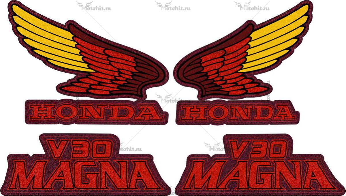 Комплект наклеек Honda VF-500-C 1985 V-30-MAGNA
