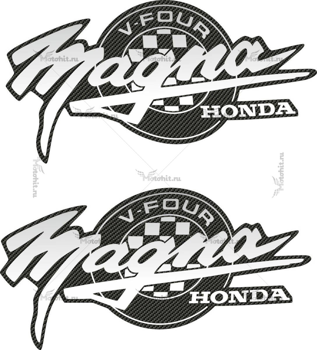 Комплект наклеек Honda VF-750 1994-1995 V-30 MAGNA-CARBONSILVER